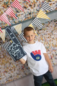 Sports Party with Really Fun Ideas via Kara's Party Ideas | KarasPartyIdeas.com #FootballParty #HockeyParty #BaseballParty #PartyIdeas #Supplies (11)