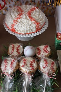 Sports Party with Really Fun Ideas via Kara's Party Ideas | KarasPartyIdeas.com #FootballParty #HockeyParty #BaseballParty #PartyIdeas #Supplies (4)