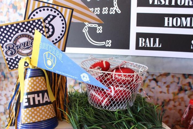 Sports Party with Really Fun Ideas via Kara's Party Ideas | KarasPartyIdeas.com #FootballParty #HockeyParty #BaseballParty #PartyIdeas #Supplies (32)