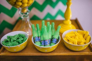 Neon Geo Stache Bash Baby Shower Filled with Really Cute Ideas via Kara's Party Ideas | KarasPartyIdeas.com #MustacheParty #Party #Ideas #Supplies (11)