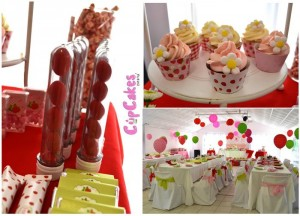 Strawberry Themed 7th Birthday Party with Lots of Cute Ideas via Kara's Party Ideas | KarasPartyIdeas.com #Strawberry #Party #Ideas #Supplies (9)