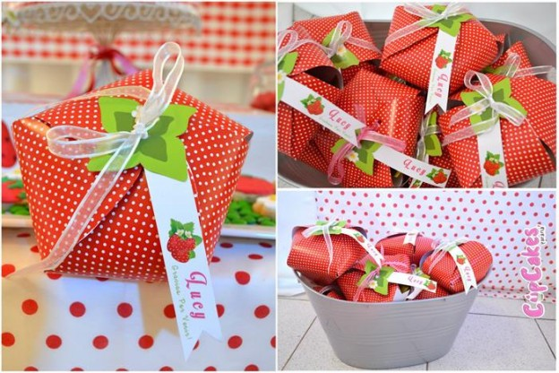 Strawberry Themed 7th Birthday Party with Lots of Cute Ideas via Kara's Party Ideas | KarasPartyIdeas.com #Strawberry #Party #Ideas #Supplies (8)