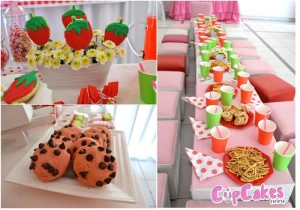 Strawberry Themed 7th Birthday Party with Lots of Cute Ideas via Kara's Party Ideas | KarasPartyIdeas.com #Strawberry #Party #Ideas #Supplies (7)
