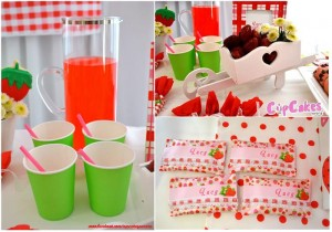 Strawberry Themed 7th Birthday Party with Lots of Cute Ideas via Kara's Party Ideas | KarasPartyIdeas.com #Strawberry #Party #Ideas #Supplies (6)