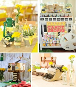 Old Fashioned Summer 1st Birthday Party with So Many Cute Ideas via Kara's Party Ideas | KarasPartyIdeas.com #LittleRascals #Party #Ideas #Supplies (1)