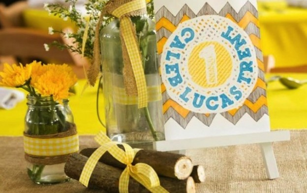 Old Fashioned Summer 1st Birthday Party with Lots of Cute Ideas via Kara's Party Ideas | KarasPartyIdeas.com #LittleRascals #Party #Ideas #Supplies (1)