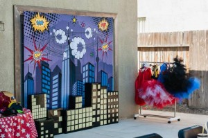 Superhero Party with Lots of Fun Ideas via Kara's Party Ideas   KarasPartyIdeas.com #SuperheroParty #Party #Ideas #Supplies (9)
