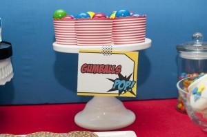 Superhero Themed Birthday Party with So Many Cute Ideas via Kara's Party Ideas | KarasPartyIdeas.com #SupermanParty #BatmanParty #PartyIdeas #Supplies (16)
