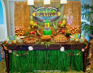 """Survivor"" Inspired Party Full of Fabulous Ideas via Kara's Party Ideas 