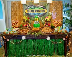 """Survivor"" Inspired Party Full of Fabulous Ideas via Kara's Party Ideas | KarasPartyIdeas.com #SurvivorParty #Party #Ideas #Supplies (47)"