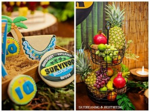"""Survivor"" Inspired Party Full of Fabulous Ideas via Kara's Party Ideas   KarasPartyIdeas.com #SurvivorParty #Party #Ideas #Supplies (41)"