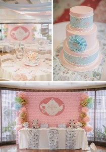 Romantic Tea Party 1st Birthday Party with Such Cute Ideas via Kara's Party Ideas | KarasPartyIdeas.com #TeaParty #Party #Ideas #Supplies (1)