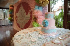 Romantic Tea Party 1st Birthday Party with Such Cute Ideas via Kara's Party Ideas | KarasPartyIdeas.com #TeaParty #Party #Ideas #Supplies (9)
