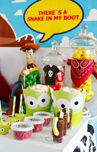 """You've Got a Friend in Me"" Toy Story Party with Lots of Really Cute Ideas via Kara's Party Ideas 