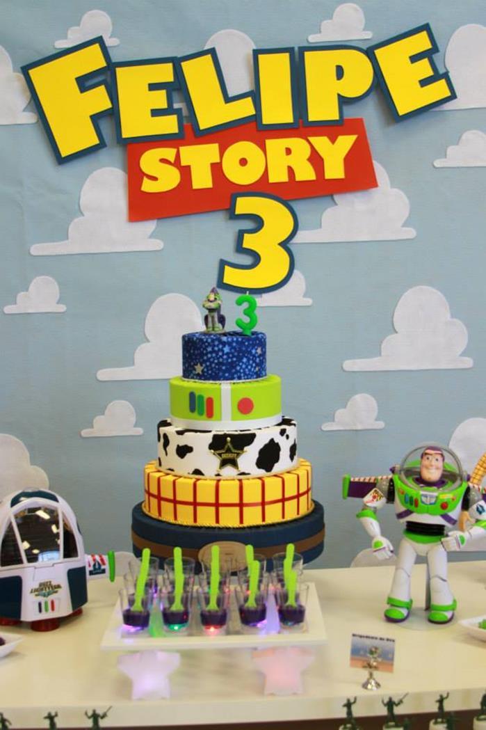 Toy Story Birthday Party : Kara s party ideas toy story themed rd birthday