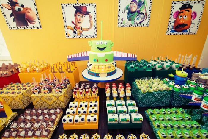 Toy Story Party Ideas Decorations : Kara s party ideas toy story birthday with tons of