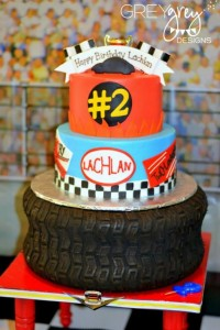 Two lledega Race Car Party with Lots Really Cool Ideas via Kara's Party Ideas | KarasPartyIdeas.com #Talledega #Racing #Party #Ideas #Supplies (15)