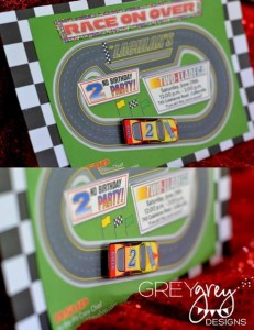 Two lledega Race Car Party with Lots Really Cool Ideas via Kara's Party Ideas | KarasPartyIdeas.com #Talledega #Racing #Party #Ideas #Supplies (5)
