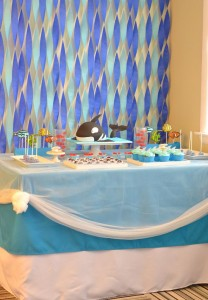 Under the Sea Party with Lots of Cute Ideas via Kara's Party Ideas | KarasPartyIdeas.com #Ocean #Fish #Party #Ideas #Supplies (14)
