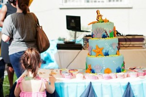 Under the Sea Party with Lots of Cute Ideas via Kara's Party Ideas | KarasPartyIdeas.com #Mermaid #Ocean #Party #Ideas #Supplies (6)