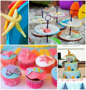 Under the Sea Party with Lots of Cute Ideas via Kara's Party Ideas | KarasPartyIdeas.com #Mermaid #Ocean #Party #Ideas #Supplies (1)