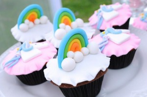 Rainbows and Unicorns Party with So Many Cute Ideas via Kara's Party Ideas | KarasPartyIdeas.com #UnicornParty #RainbowParty #PartyIdeas #Supplies (11)