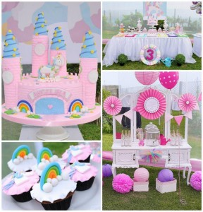 Rainbows and Unicorns Party with So Many Cute Ideas via Kara's Party Ideas | KarasPartyIdeas.com #UnicornParty #RainbowParty #PartyIdeas #Supplies (1)