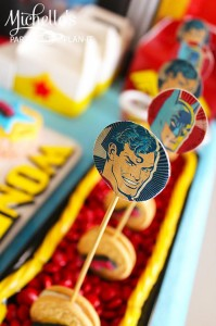 Wonder Woman Party with So Many Awesome Ideas via Kara's Party Ideas | KarasPartyIdeas.com #Superhero #Party #Ideas #Supplies (7)