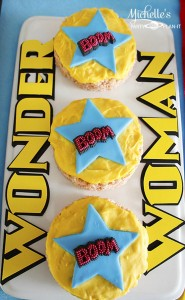Wonder Woman Party with So Many Awesome Ideas via Kara's Party Ideas | KarasPartyIdeas.com #Superhero #Party #Ideas #Supplies (17)