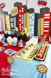 Wonder Woman Party with So Many Awesome Ideas via Kara's Party Ideas | KarasPartyIdeas.com #Superhero #Party #Ideas #Supplies (13)