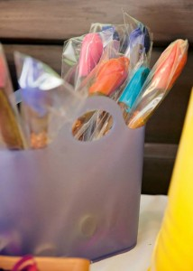 All Things Art Party Full of Fabulous Ideas via Kara's Party Ideas | KarasPartyIdeas.com #ArtParty #PaintingParty #PartyIdeas #PartySupplies (7)
