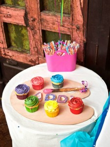 All Things Art Party Full of Fabulous Ideas via Kara's Party Ideas | KarasPartyIdeas.com #ArtParty #PaintingParty #PartyIdeas #PartySupplies (2)