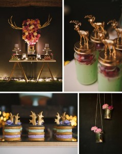 A 40th Birthday Party Full of REALLY CUTE IDEAS via Kara's Party Ideas | KarasPartyIdeas.com #AntlerParty #ElkParty #ShabbyChic #Partydeas #Supplies (1)