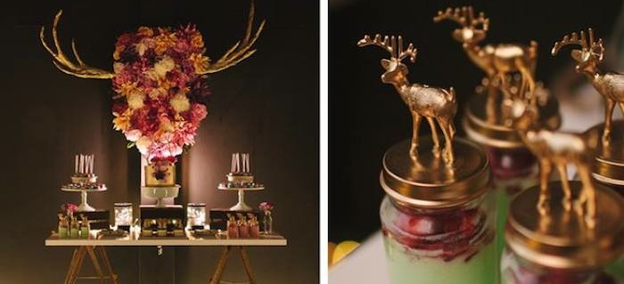 Gorgeous Rustic Elegant 40th Birthday Party Full Of Fabulous Ideas For A Or Wedding By Confetti Fair Via Karas KarasPartyIdeas