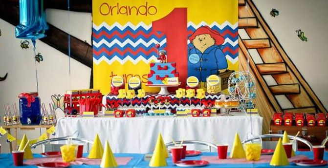 Karas Party Ideas Paddington Bear Supplies Planning Idea Cake Decorations