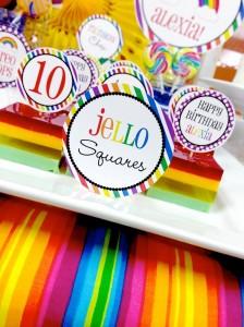 Rainbow loom party! With Lots of Fun Ideas! Via Kara's Party Ideas KarasPartyIdeas.com #rainbowparty #loomparty #rainbowloomparty (29)