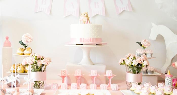 Karas Party Ideas Rocking Horse Baby Shower Party Planning Ideas