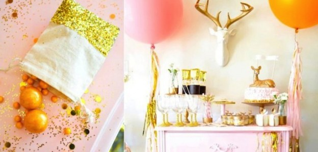 The DOE is saying I DO deer themed bridal shower! By Kara Allen | KarasPartyIdeas.com