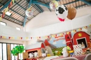 Barnyard Party with Full of Ideas via Kara's Party Ideas | KarasPartyIdeas.com #BarnyardParty #FarmParty #PartyIdeas #Supplies (9)