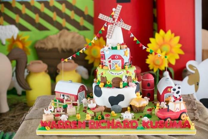 Kara's Party Ideas » Barnyard Party with Lots of Great ...