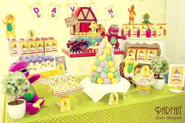 Barney Friends Party Full Of Great Ideas Via Karas