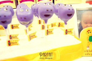 Barney & Friends Party Full of Great Ideas via Kara's Party Ideas   KarasPartyIdeas.com #BarneyThePurpleDinosaur #Party #Ideas #Supplies (10)
