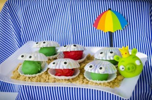 Angry Birds Beach Party Full of Fabulous Ideas via Kara's Party Ideas | KarasPartyIdeas.com #AngryBirdsParty #BeachParty #PartyIdeas #Supplies (9)