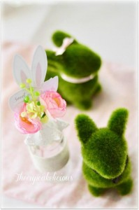 Shabby Chic Bunny Themed 1st Birthday Party with SUCH CUTE IDEAS via Kara's Party Ideas | KarasPartyIdeas.com #BunnyParty #PartyIdeas #Supplies (11)