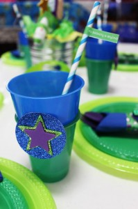 Buzz Lightyear Party with Lots of Cute Ideas via Kara's Party Ideas | KarasPartyIdeas.com #ToyStoryParty #BuzzLighyear #PartyIdeas #Supplies (9)