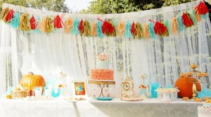 Vintage Cinderella Pumpkin Princess Party with Such Cute Ideas via Kara's Party Ideas | KarasPartyIdeas.com #FallParty #CinderellaParty #PumpkinParty #PartyIdeas #Supplies (5)