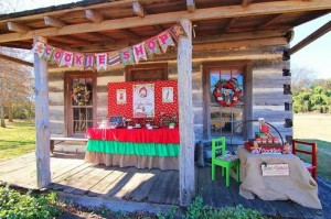Mrs. Claus Cookie Shop Party with REALLY CUTE IDEAS via Kara's Party Ideas | KarasPartyIdeas.com #ChristmasParty #KidsChristmasParty #HolidayParty #PartyIdeas #Supplies (4)