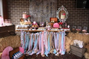 Vintage Cowgirl Party with SUCH CUTE IDEAS via Kara's Party Ideas | KarasPartyIdeas.com #WesternParty #CowgirlParty #Party #Ideas #Supplies (14)