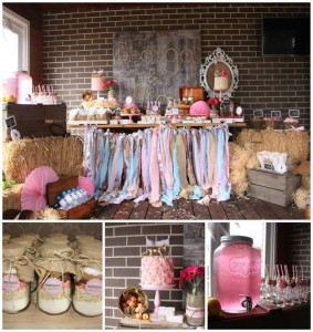Vintage Cowgirl Party with SUCH CUTE IDEAS via Kara's Party Ideas | KarasPartyIdeas.com #WesternParty #CowgirlParty #Party #Ideas #Supplies (1)