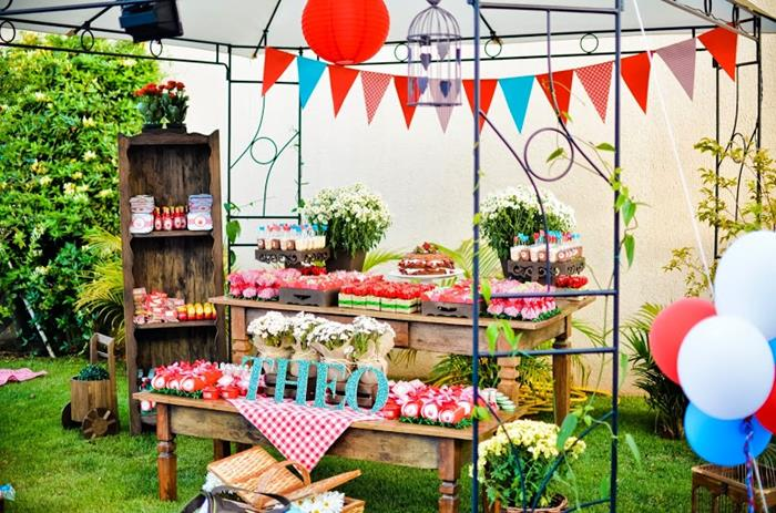 kara 39 s party ideas garden picnic party with such cute ideas via kara 39